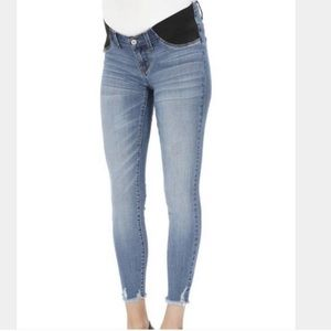 Pants - Distressed maternity jeans